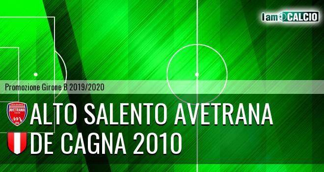 Alto Salento Avetrana - De Cagna 2010