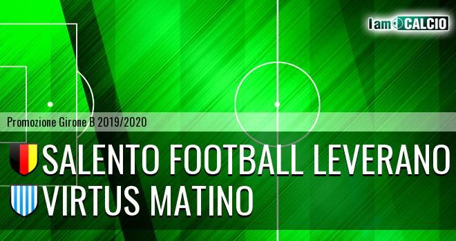 Salento Football Leverano - Virtus Matino