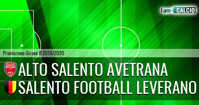 Alto Salento Avetrana - Salento Football Leverano