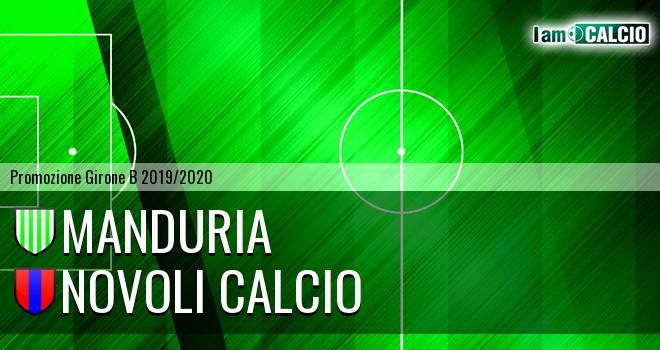 Manduria - Novoli Calcio