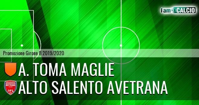 A. Toma Maglie - Avetrana Calcio