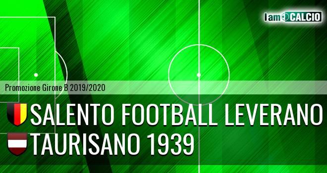 Salento Football Leverano - Taurisano 1939