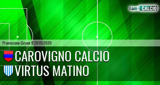 Carovigno Calcio - Virtus Matino