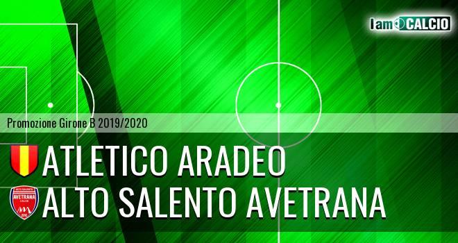 Atletico Aradeo - Alto Salento Avetrana