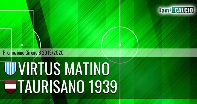 Virtus Matino - Taurisano 1939