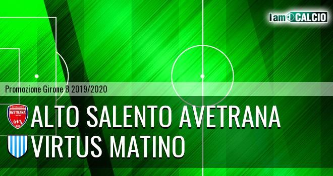 Avetrana Calcio - Virtus Matino