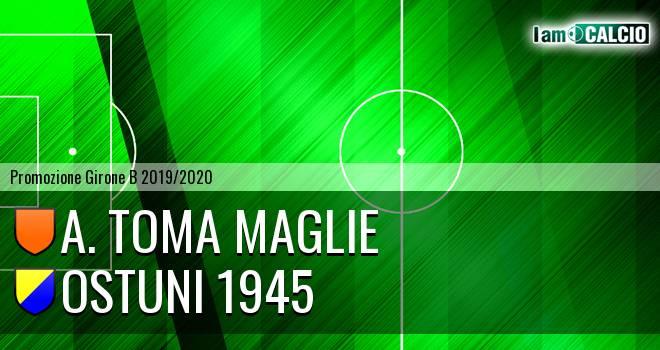 A. Toma Maglie - Ostuni 1945