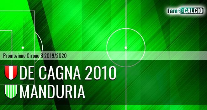 De Cagna 2010 - Manduria