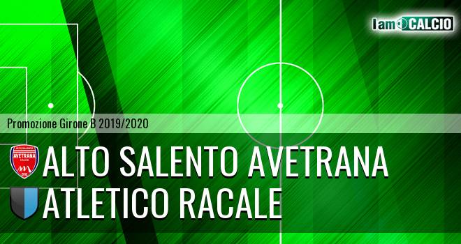 Avetrana Calcio - Atletico Racale