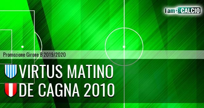 Virtus Matino - De Cagna 2010