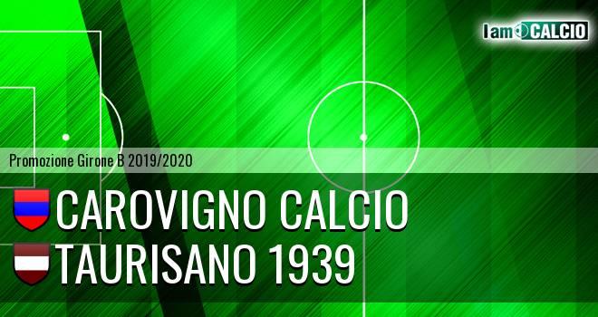 Carovigno Calcio - Taurisano 1939