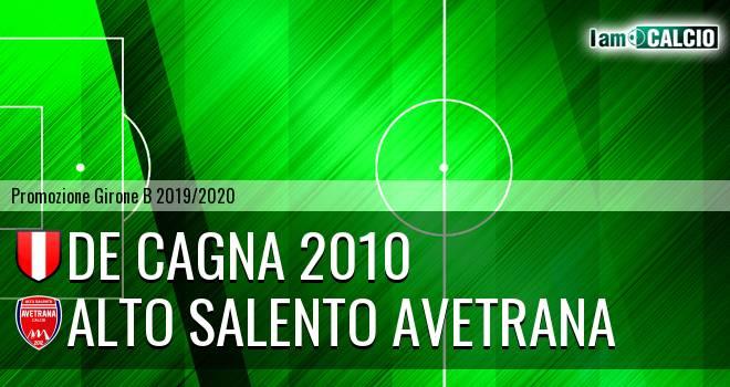 De Cagna 2010 - Avetrana Calcio