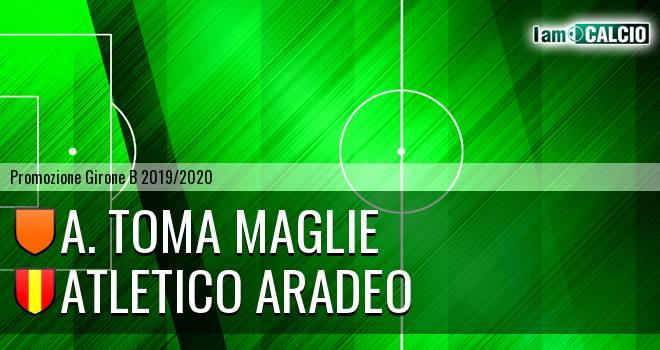 A. Toma Maglie - Atletico Aradeo
