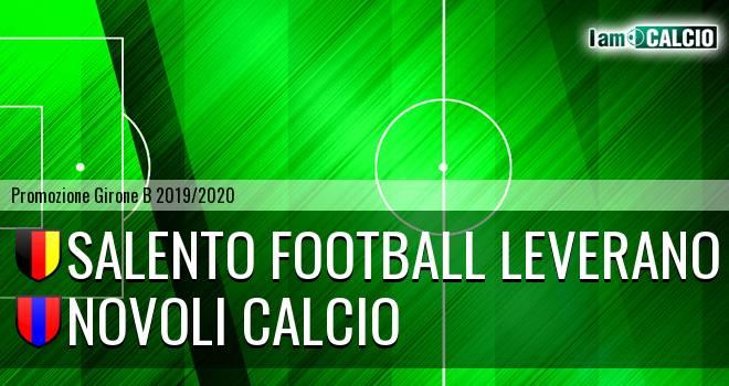 Salento Football Leverano - Novoli Calcio