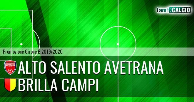 Avetrana Calcio - Brilla Campi