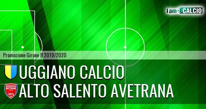 Uggiano Calcio - Avetrana Calcio