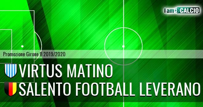 Virtus Matino - Salento Football Leverano
