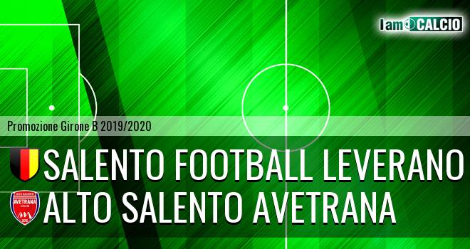 Salento Football Leverano - Avetrana Calcio