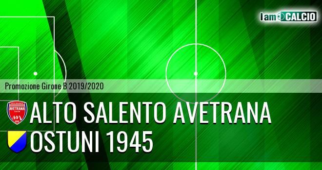 Avetrana Calcio - Ostuni 1945