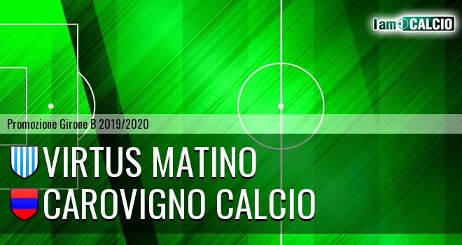 Virtus Matino - Carovigno Calcio