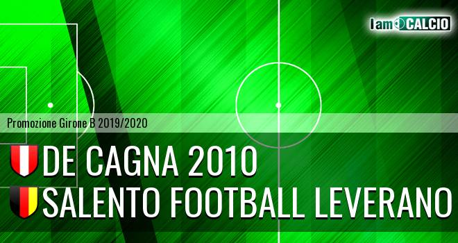 De Cagna 2010 - Salento Football Leverano