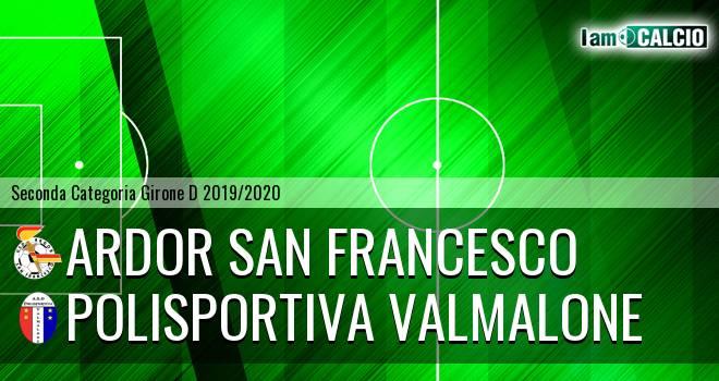Ardor San Francesco - Polisportiva Valmalone
