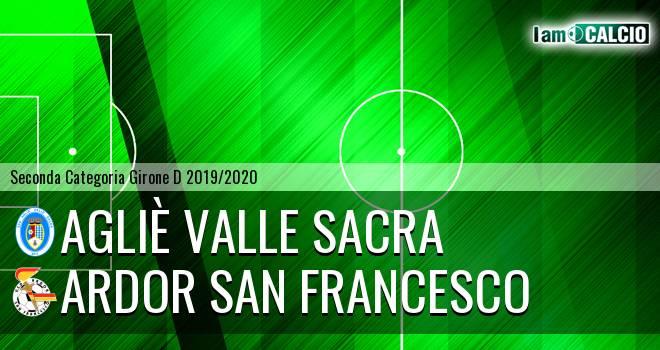 Agliè Valle Sacra - Ardor San Francesco