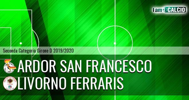 Ardor San Francesco - Livorno Ferraris