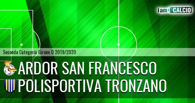 Ardor San Francesco - Polisportiva Tronzano
