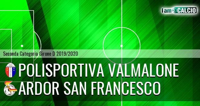 Polisportiva Valmalone - Ardor San Francesco
