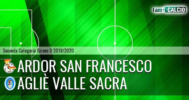 Ardor San Francesco - Agliè Valle Sacra