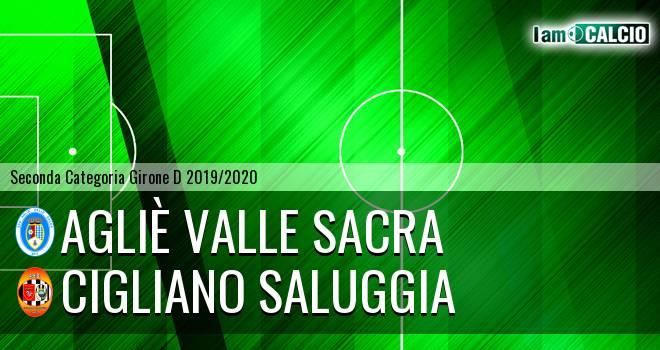 Agliè Valle Sacra - Cigliano Saluggia