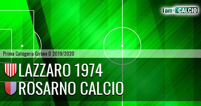 Lazzaro 1974 - Rosarno Calcio