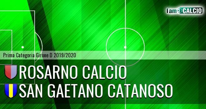 Rosarno Calcio - San Gaetano Catanoso