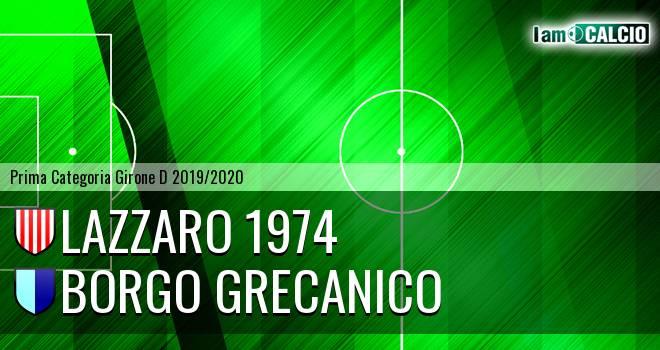 Lazzaro 1974 - Borgo Grecanico