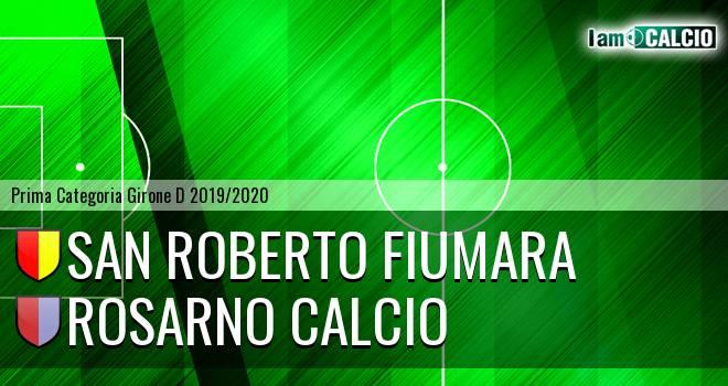 San Roberto Fiumara - Rosarno Calcio