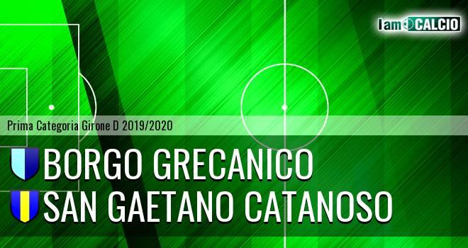 Borgo Grecanico - San Gaetano Catanoso