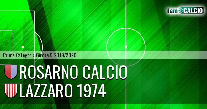 Rosarno Calcio - Lazzaro 1974