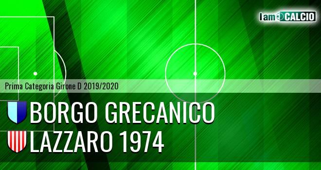 Borgo Grecanico - Lazzaro 1974