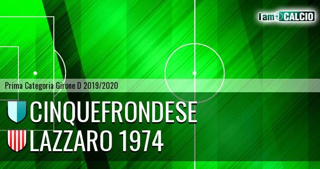 Cinquefrondese - Lazzaro 1974