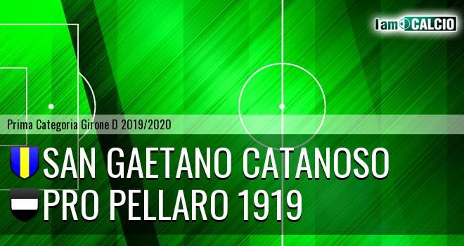 San Gaetano Catanoso - Pro Pellaro 1919