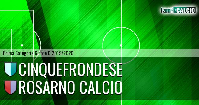 Cinquefrondese - Rosarno Calcio