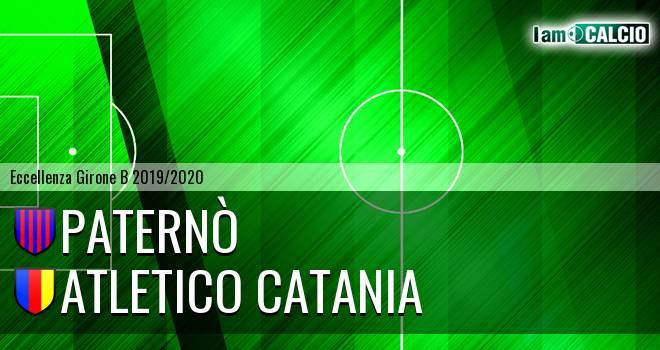 Paternò - Atletico Catania