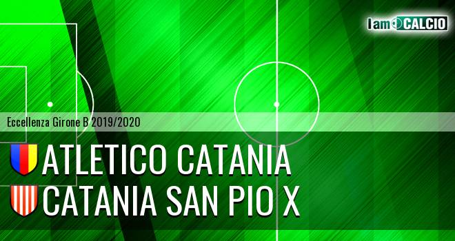 Atletico Catania - Catania San Pio X