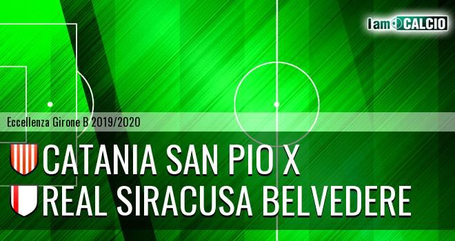 Catania San Pio X - Real Siracusa Belvedere