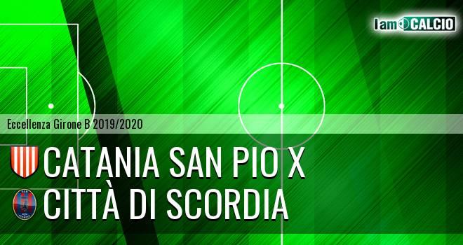 Catania San Pio X - Città di Scordia