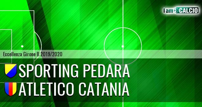 Sporting Pedara - Atletico Catania