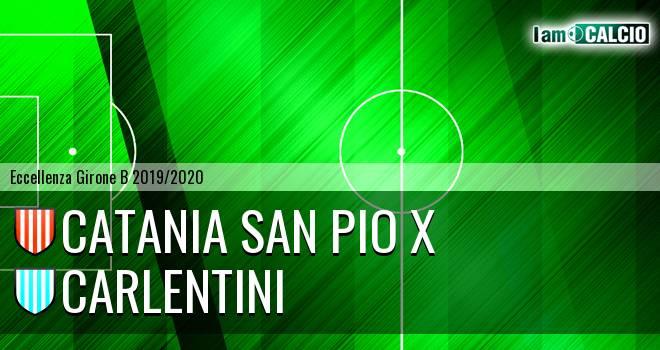 Catania San Pio X - Carlentini