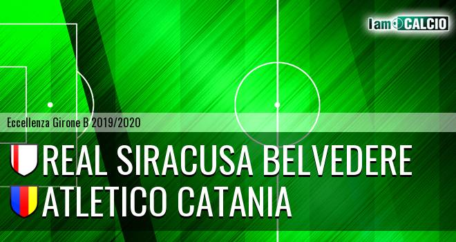 Real Siracusa Belvedere - Atletico Catania
