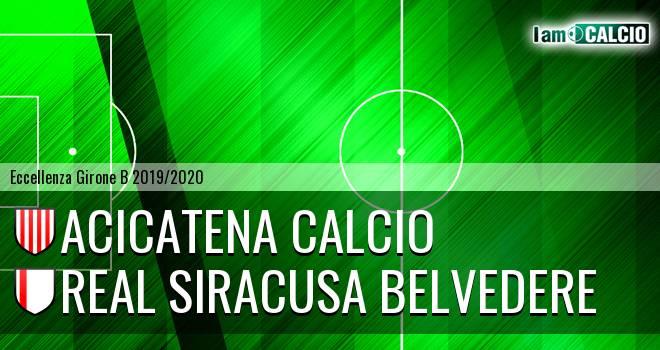 Acicatena Calcio - Real Siracusa Belvedere